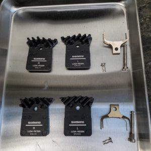 ディスクブレーキロードの洗車