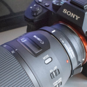 Sony α7IIIにMC-11とEF70-300mm F4-5.6 IS II USM
