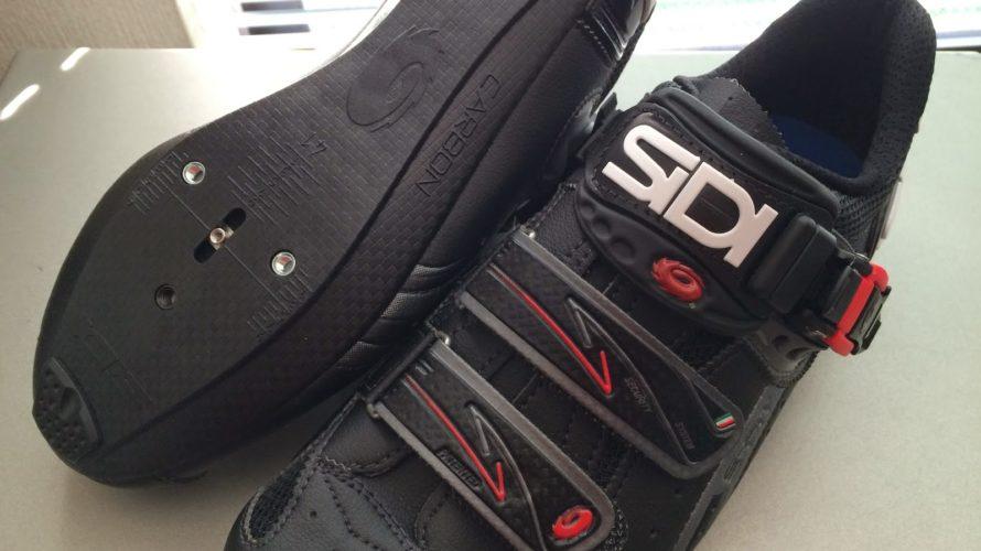 SIDI Genius 5-Fit カーボン Megaのサイズを間違えたので、どなたかご購入ください。