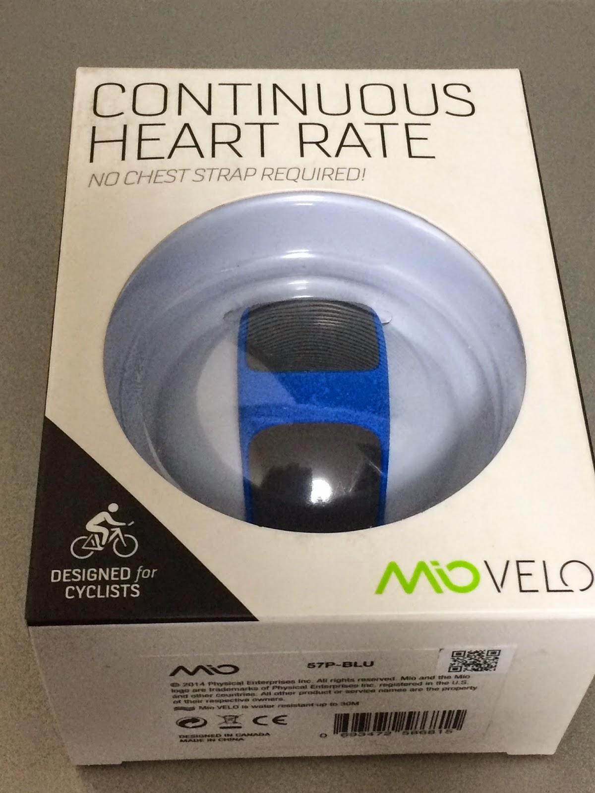 e9c6c658de 心拍計測リストバンドMio Velo開梱の儀とインプレ - SEがロードバイクに乗る